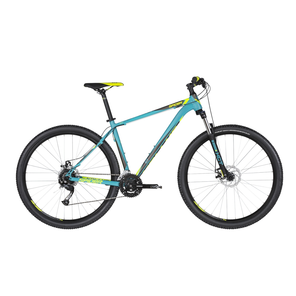 Kellys SPIDER 10 29  model 2019 Turquoise  S 17