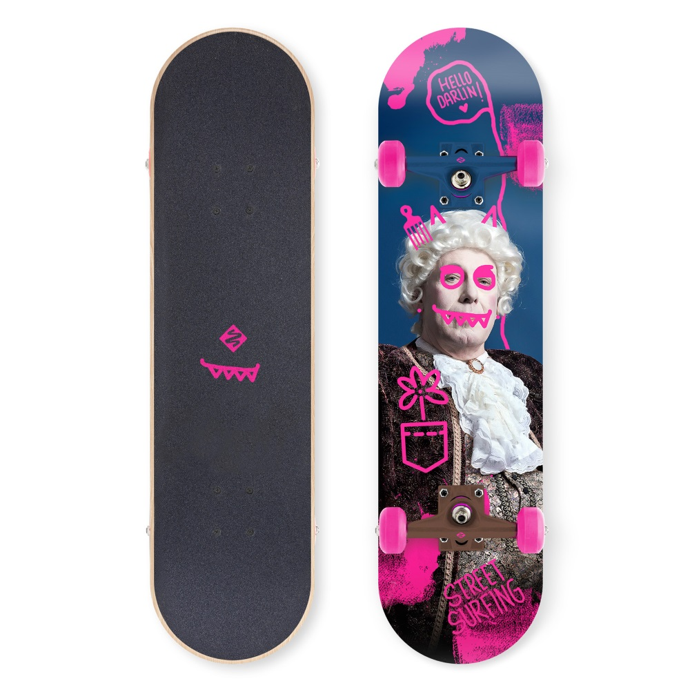 "Skateboard Street Surfing Street Skate 31"" Hello Darlin"