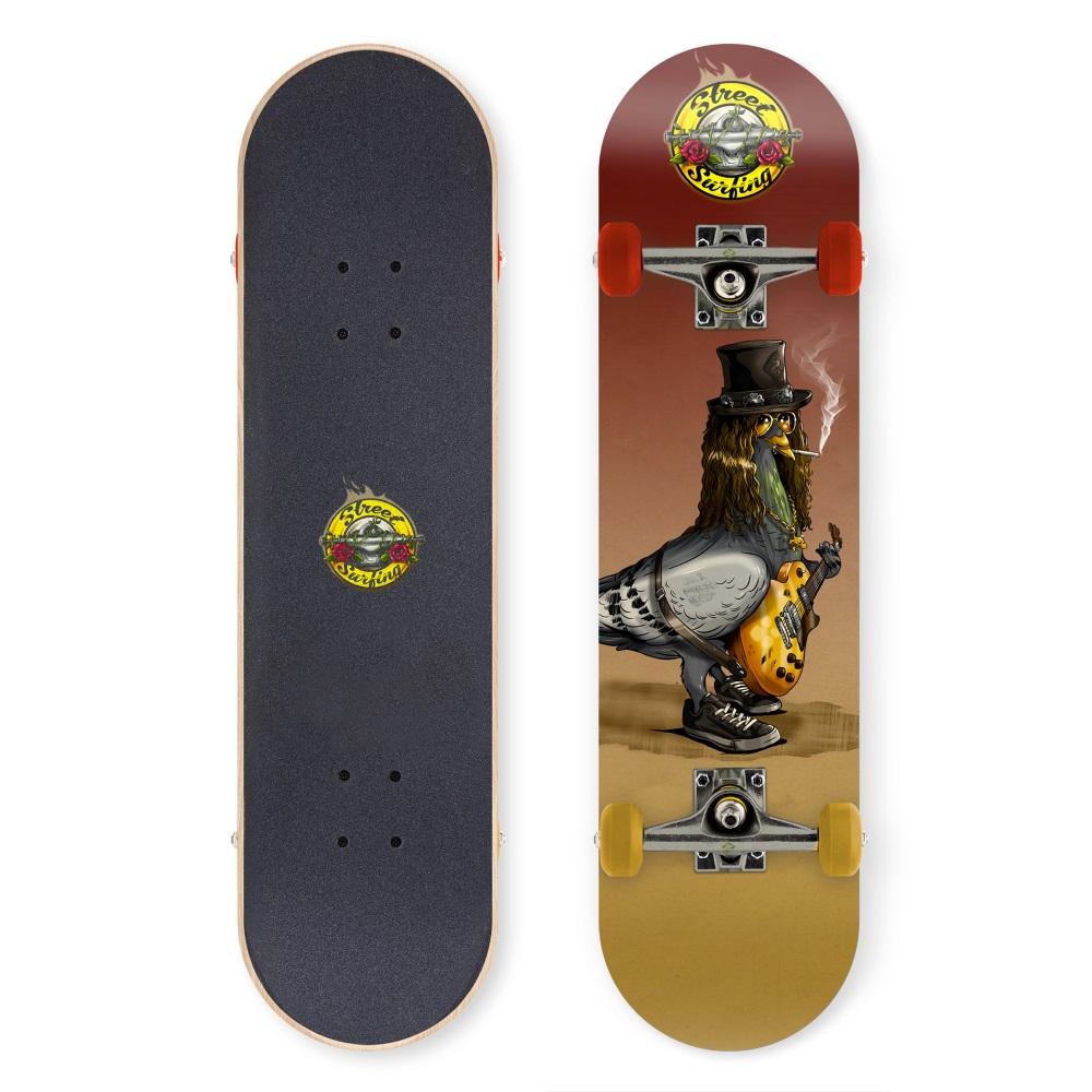 """Skateboard Street Surfing Street Skate 31"""" Street N Roses"""