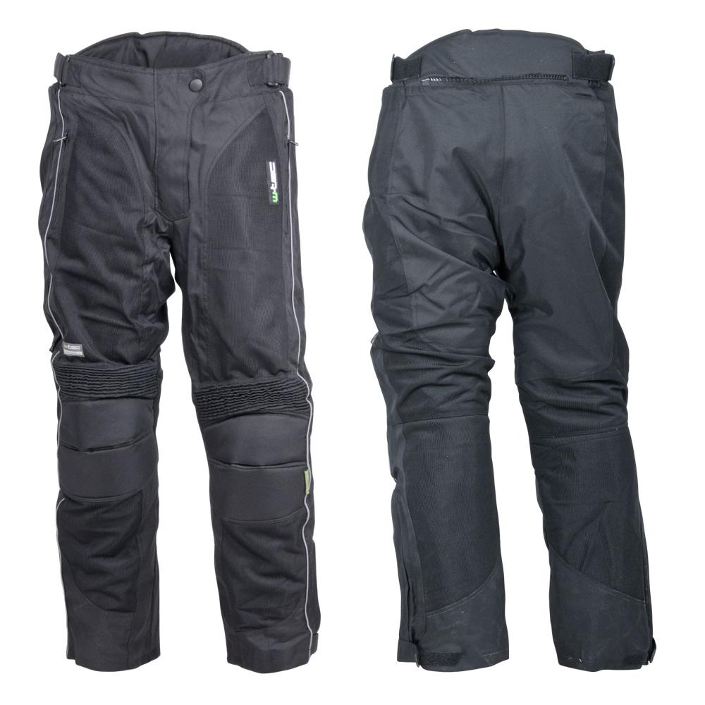 Dámské moto kalhoty W-TEC Goni černá - XS