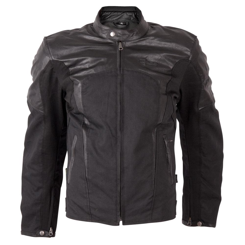 Pánská moto bunda W-TEC Taggy new matně černá - L