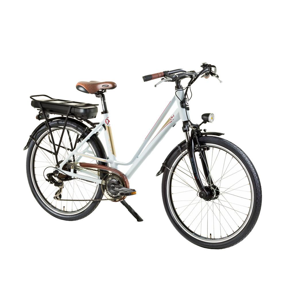 Městské elektrokolo Devron 26122 - model 2015 bílá - Servis u zákazníka + Záruka 5 let