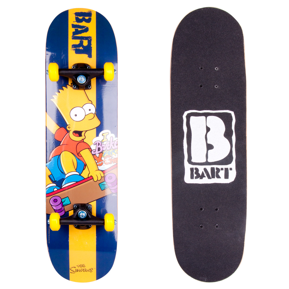 Skateboard Bart Simpson 2