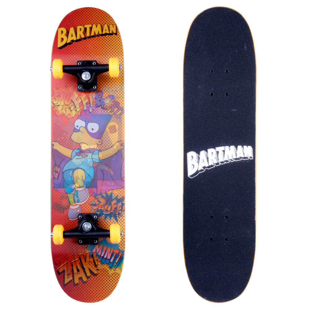 Skateboard 3D Bart Simpson 2