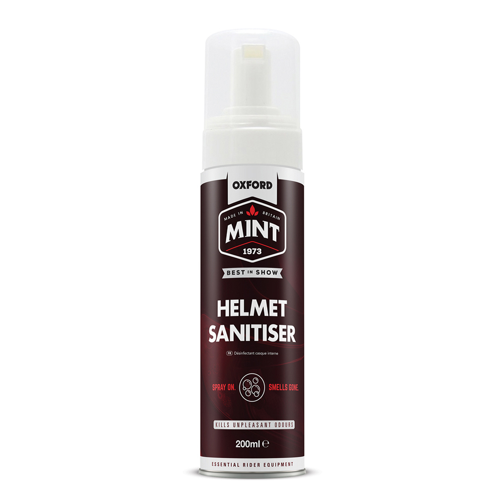 Mint Helmet Sanitiser 200 ml