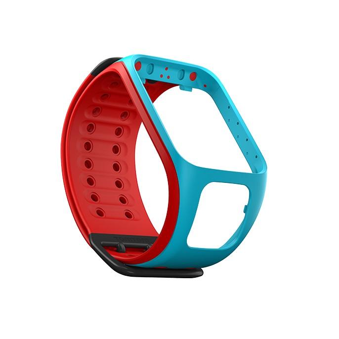 Řemínek ke GPS hodinkám TomTom modrá/červená
