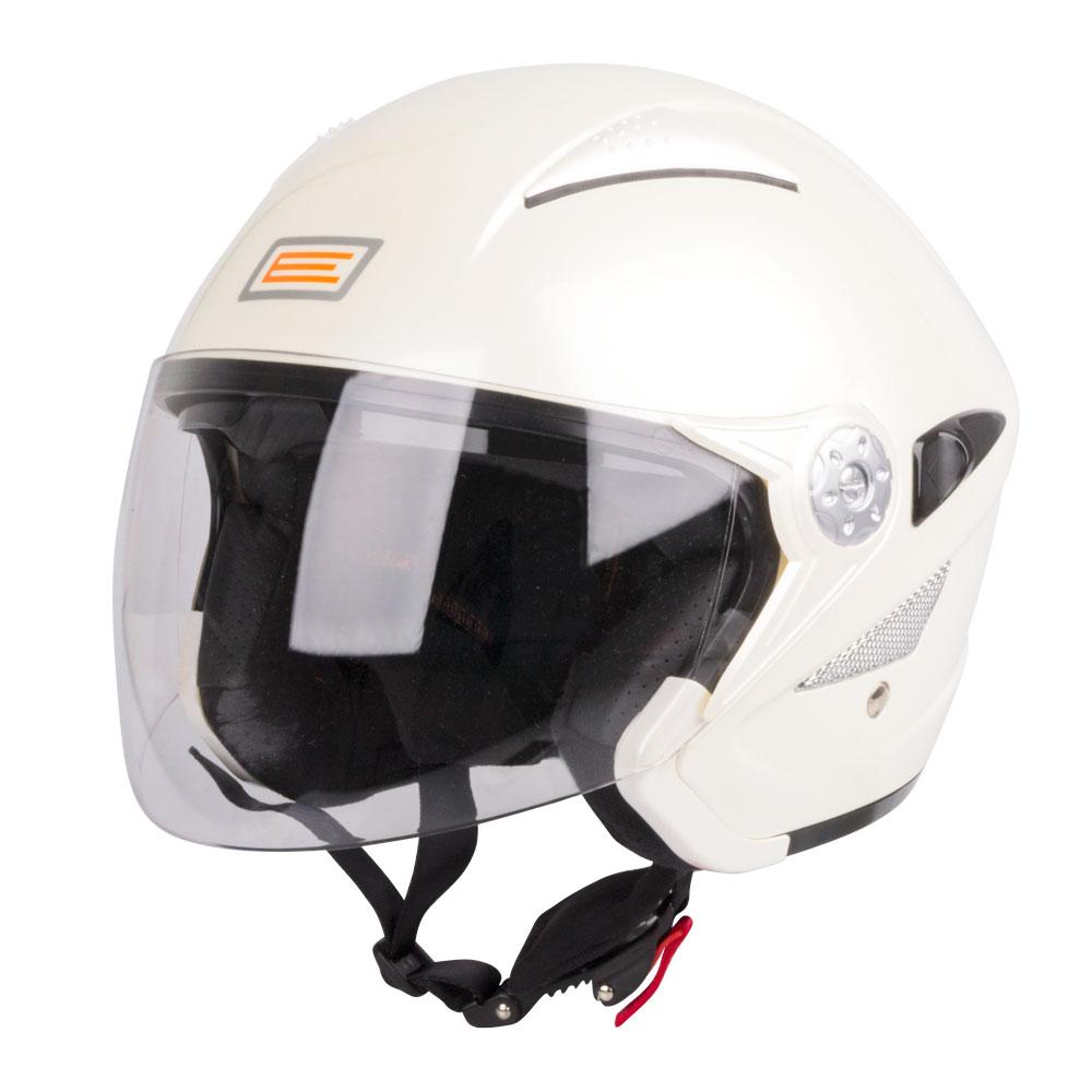 Moto helma ORIGINE V529 Pearl White - L (59-60)