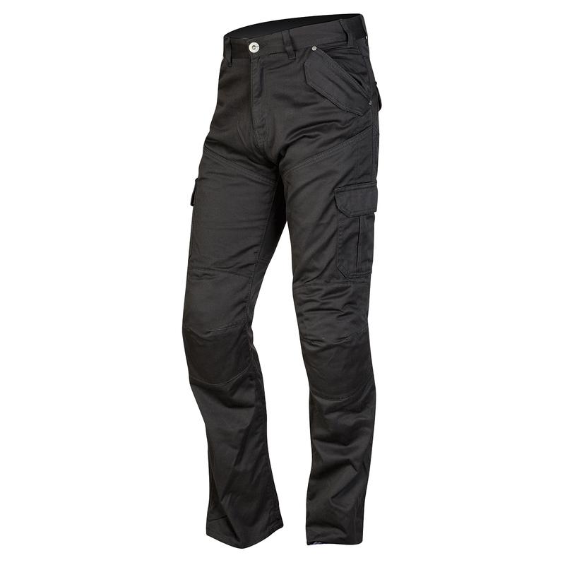Pánské moto jeansy Ozone Shadow černá - 30 5cb9ed6101