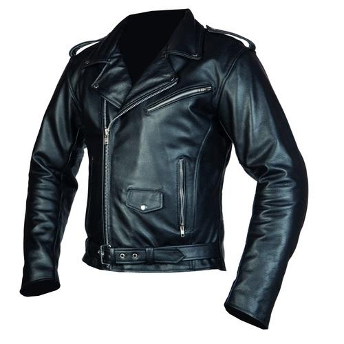 Pánská moto bunda OZONE Ramones černá - 5XL