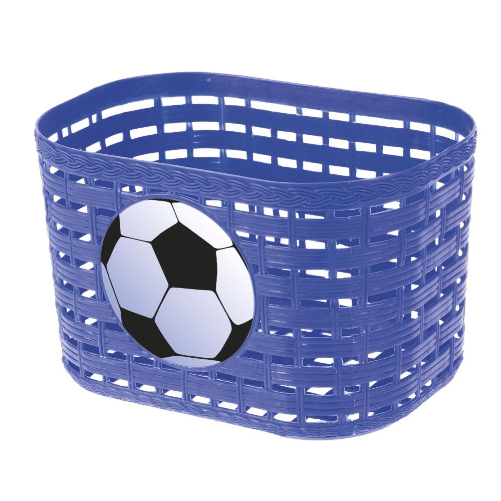 Dětský přední košík plast modrá