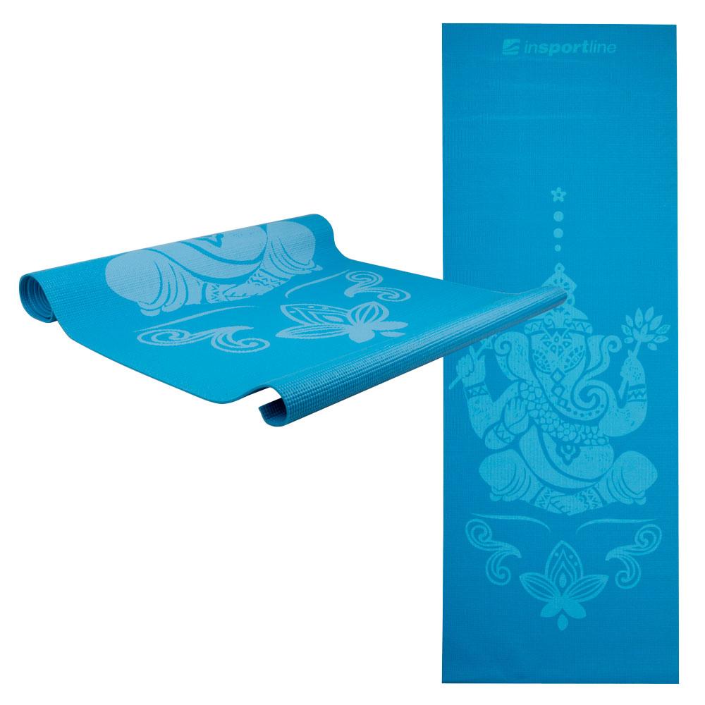 Jóga podložka inSPORTline Spirit modrá