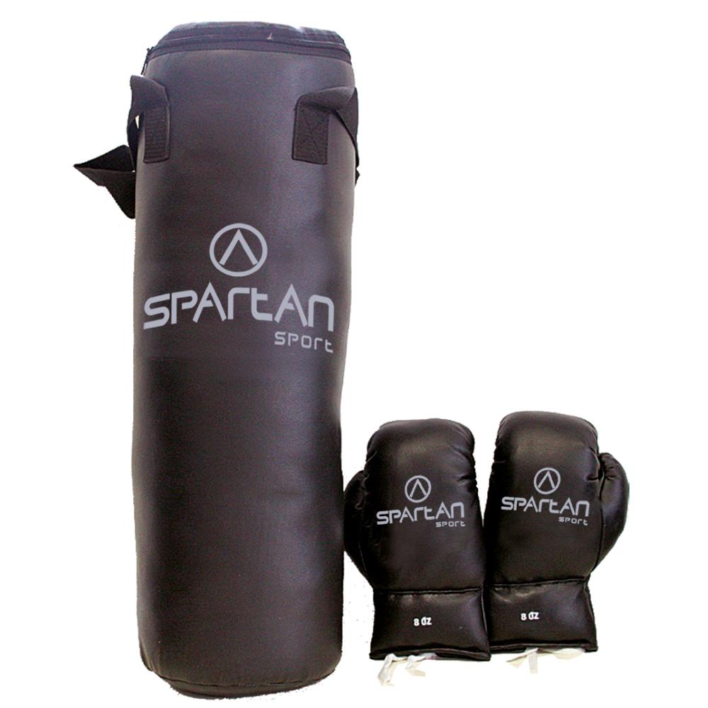 Boxovací set Spartan pytel 8 kg + rukavice