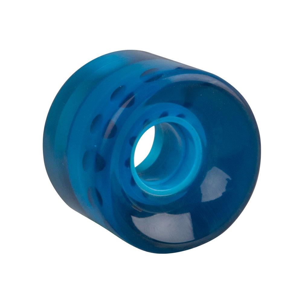 Průhledné kolečko na penny board 60*45 mm modrá