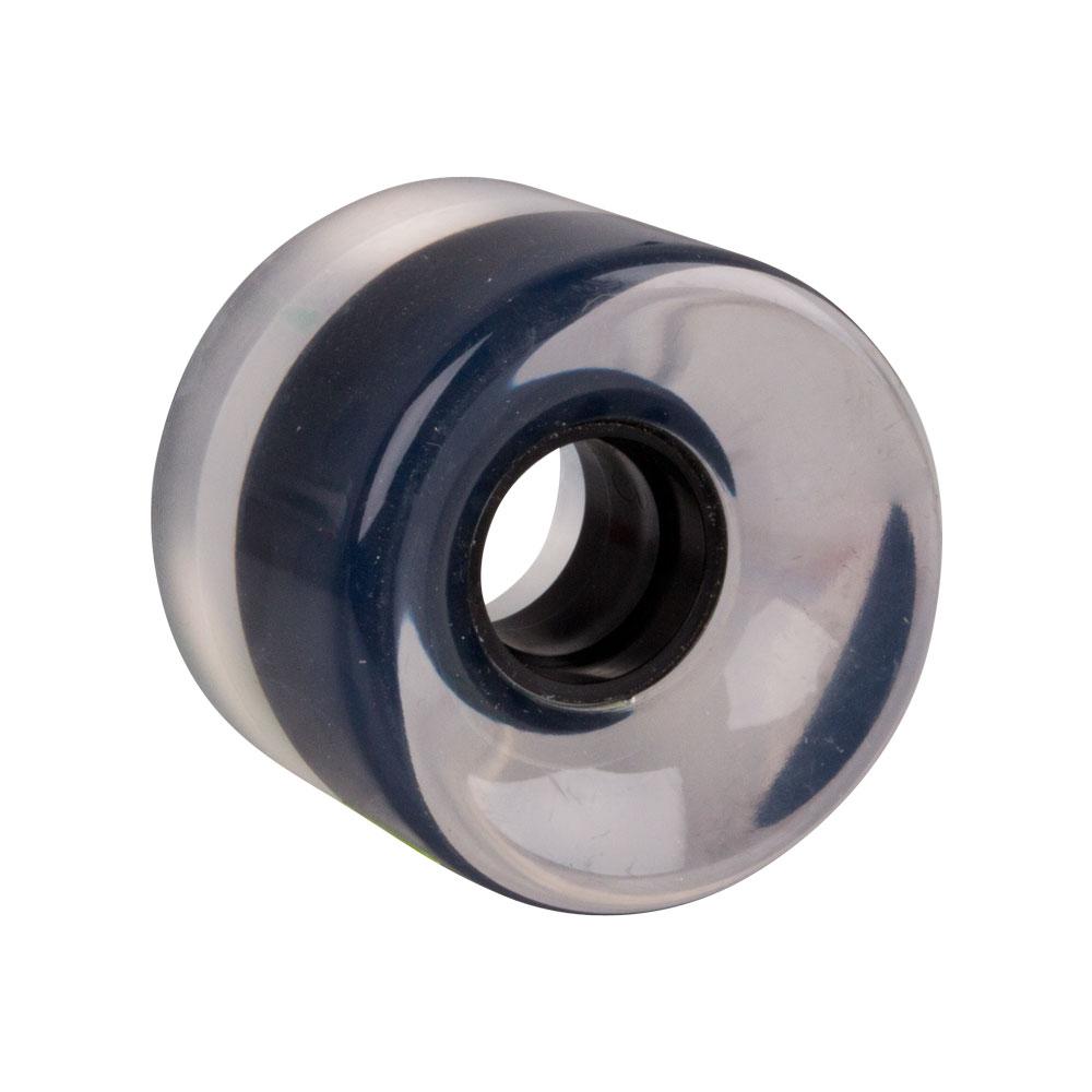 Průhledné kolečko na penny board 60*45 mm černá