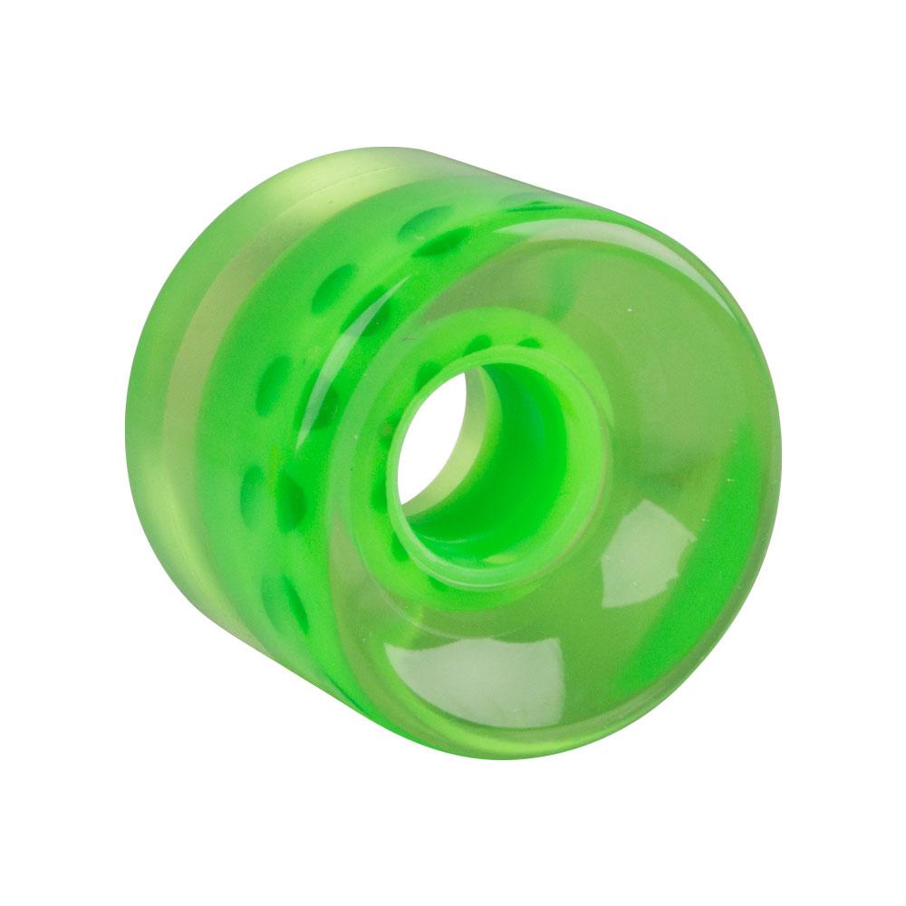 Průhledné kolečko na penny board 60*45 mm zelená