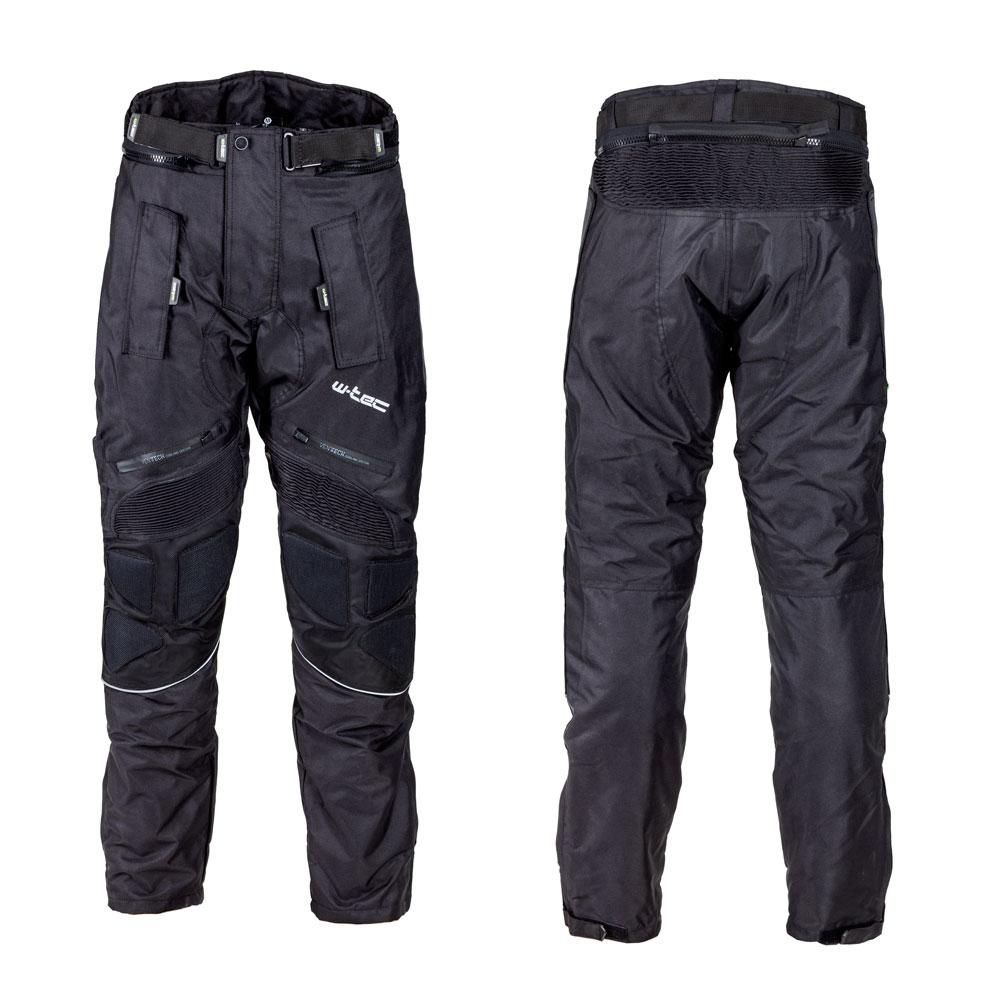 Pánské moto kalhoty W-TEC NF-2607 černá - M