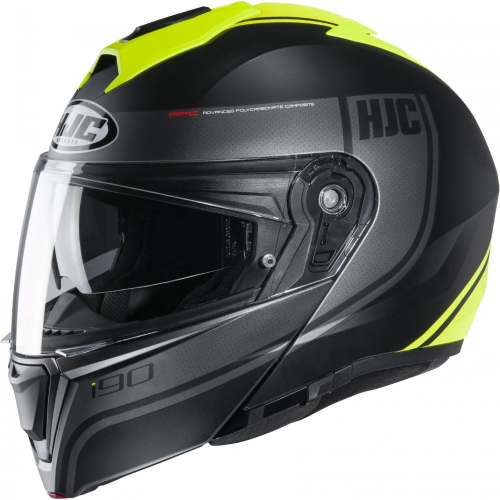 Výklopná moto přilba HJC i90 Davan MC4HSF P/J  XS (53-54)