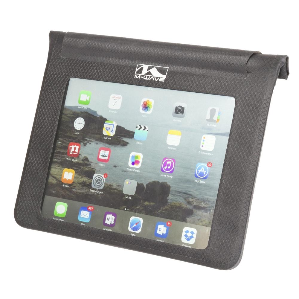 Pouzdro pro tablet M-Wave Black Bay XL na řídítka