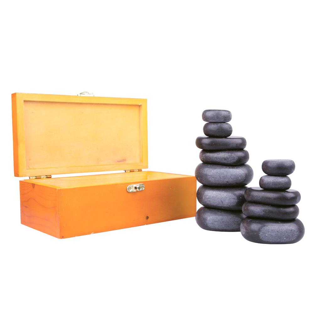 Lávové kameny inSPORTline Basalt Stone - 12 ks