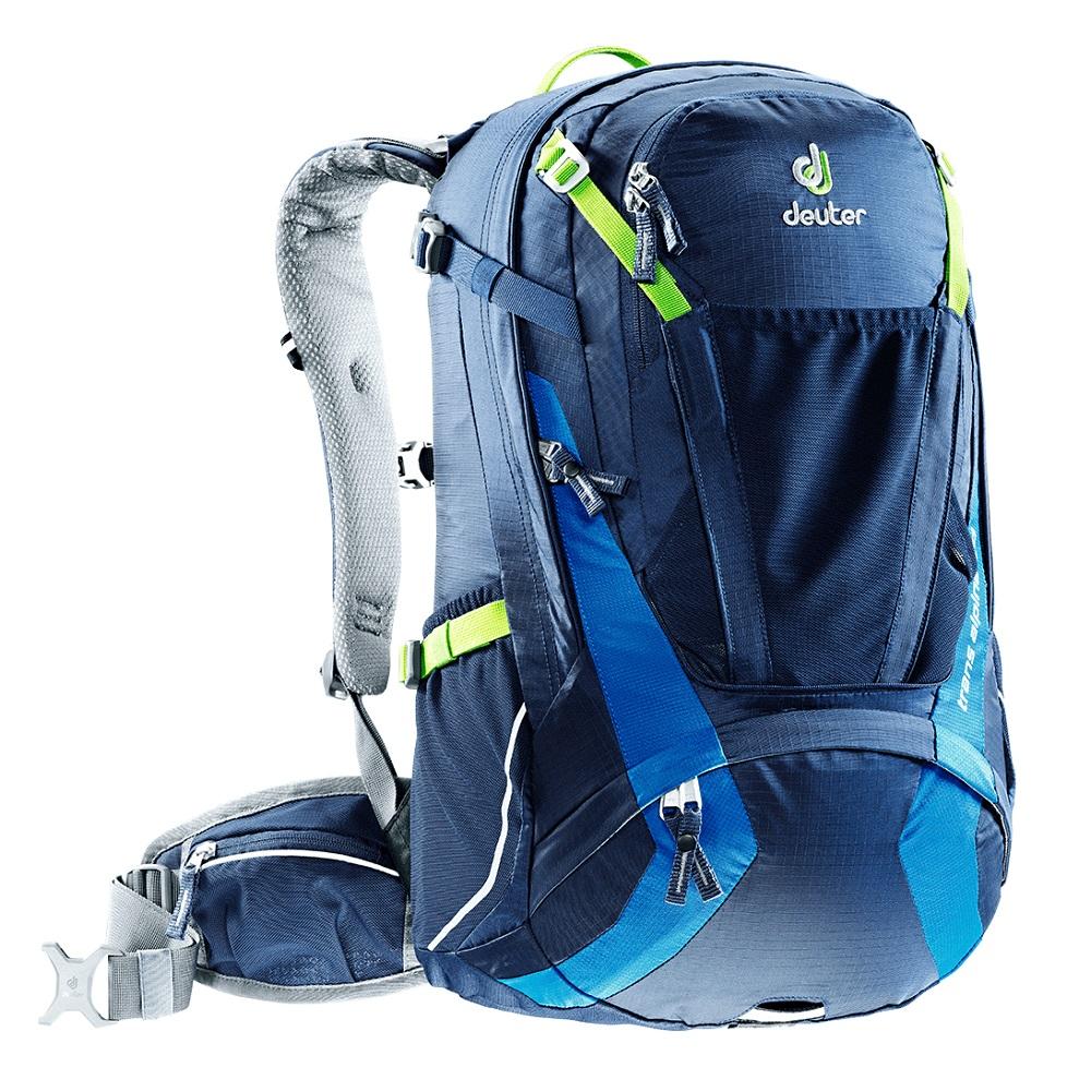 Cyklistický batoh DEUTER Trans Alpine 30 modrá
