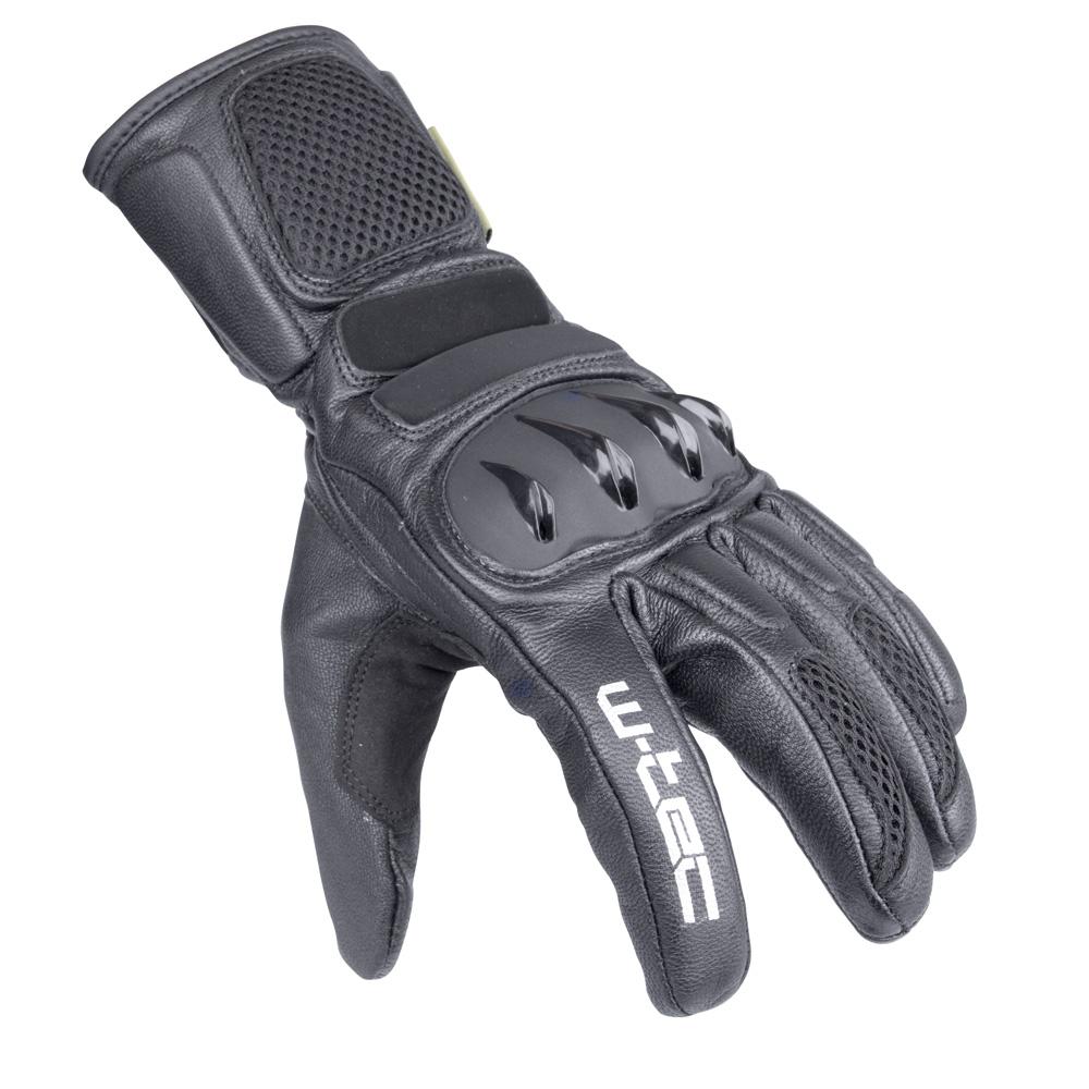Moto rukavice W-TEC Talhof černá - S