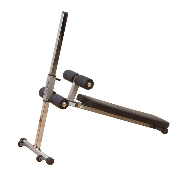 Šikmá lavička s oporou Body-Solid GAB60