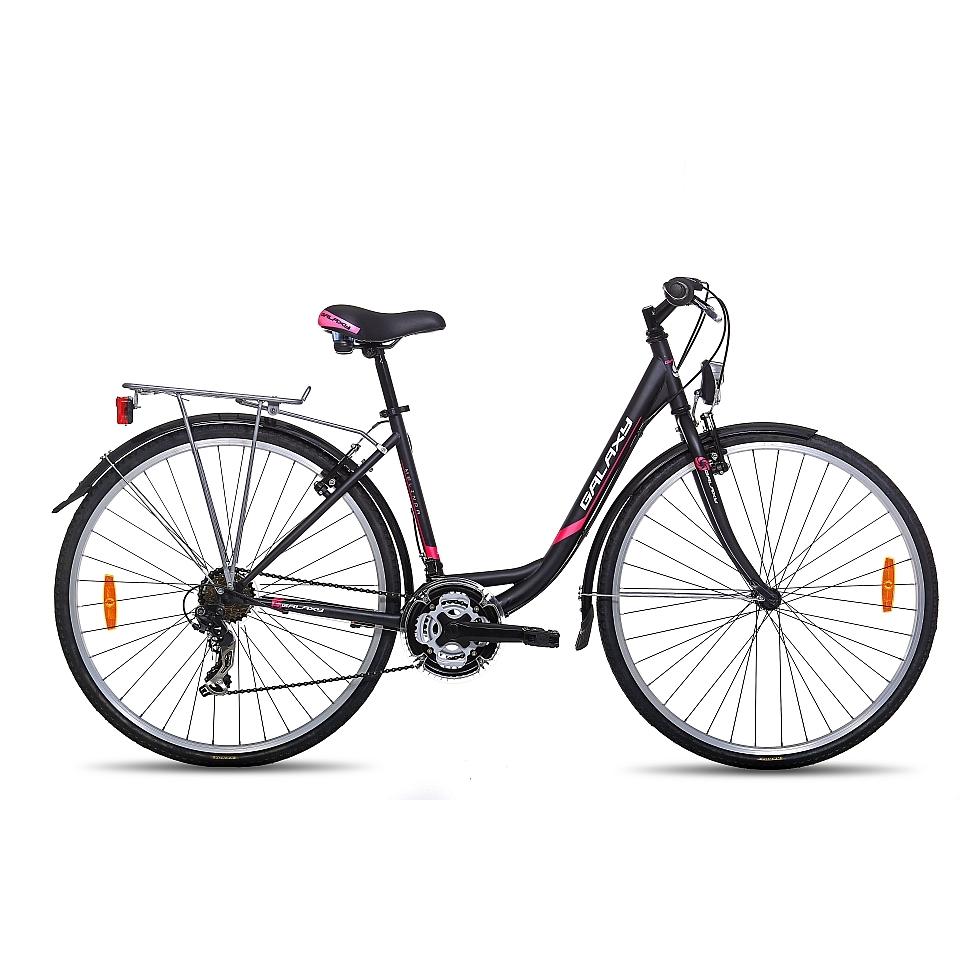 """Městské kolo Galaxy Melinda 28"""" - model 2015 černá"""