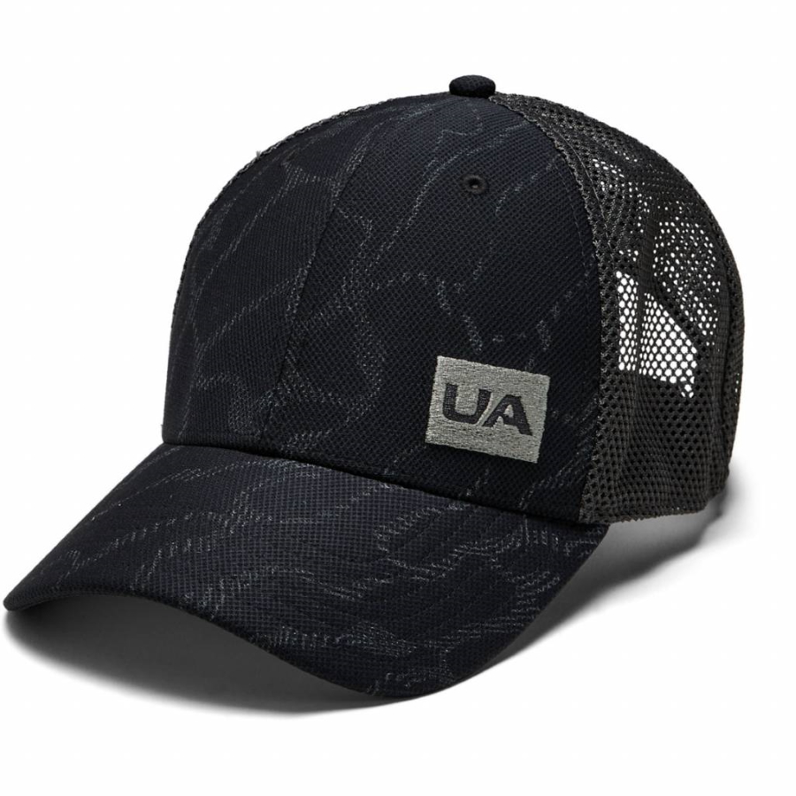 Under Armour Mens Blitzing Trucker 3.0 Black - OSFA