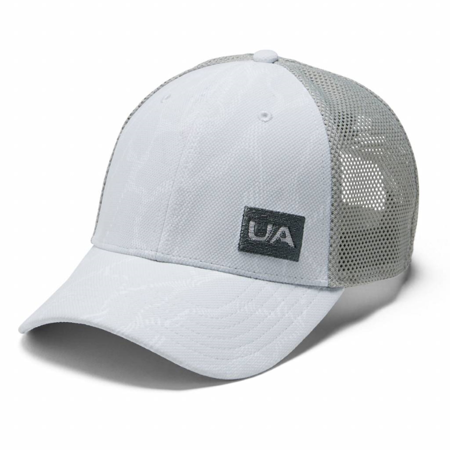 Under Armour Mens Blitzing Trucker 3.0 Halo Gray - OSFA