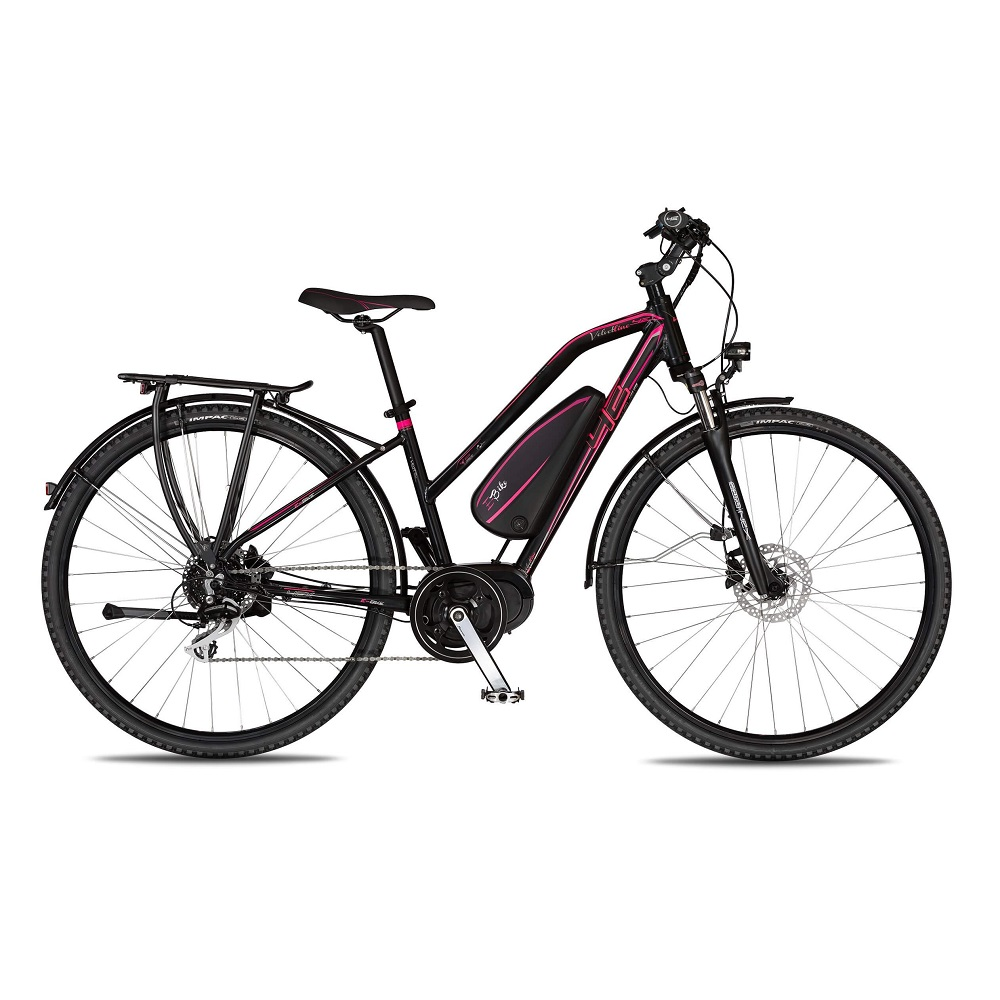 "Dámské trekingové elektrokolo 4EVER Velvetline AC E-Trekk - model 2018 18,5"" - Záruka 10 let"