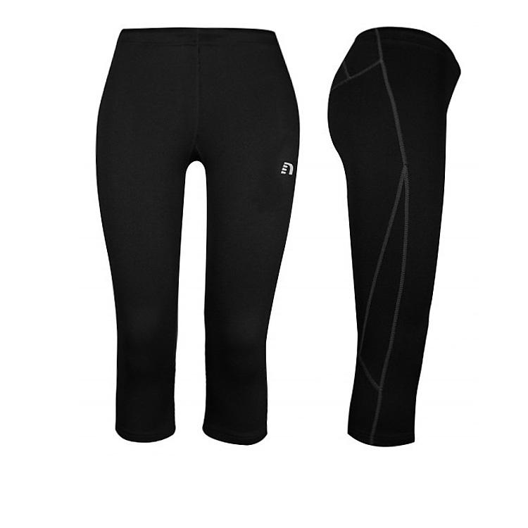 Dámské 3/4 kompresní kalhoty Newline Base Dry N Comfort Knee Tights XS