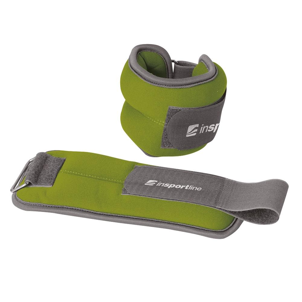 Neoprenové závaží na kotník a zápěstí inSPORTline Lastry 2x1 kg