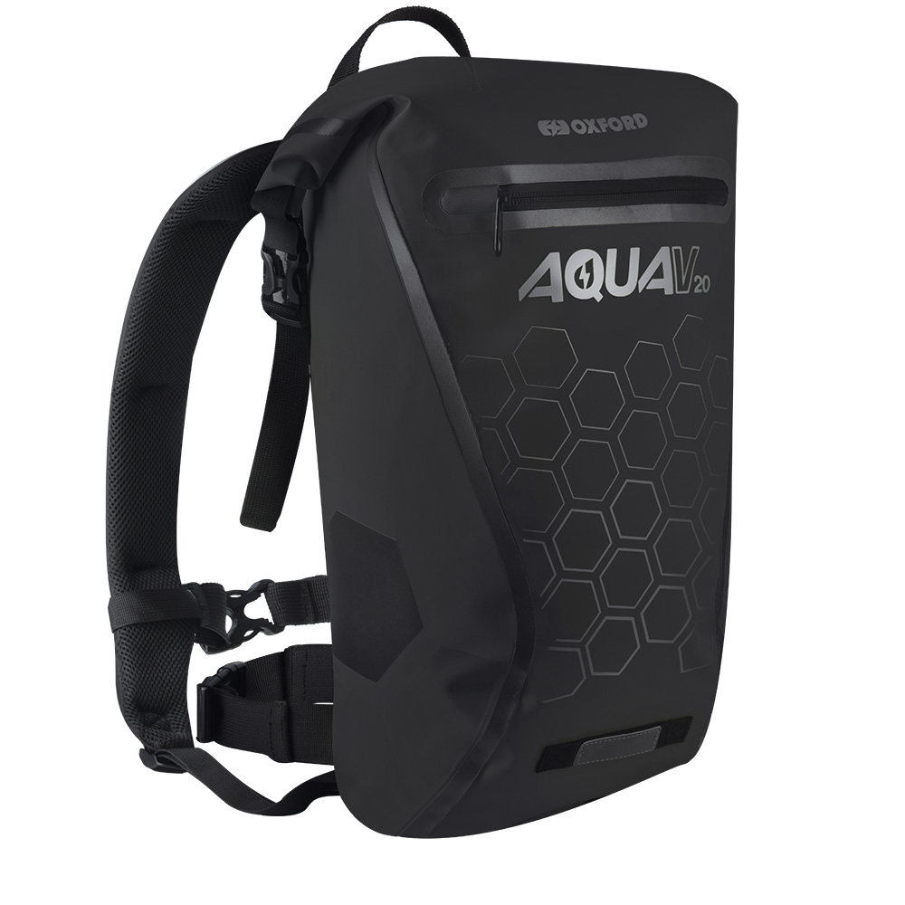 Vodotěsný batoh Oxford Aqua V20 Backpack 20l černá