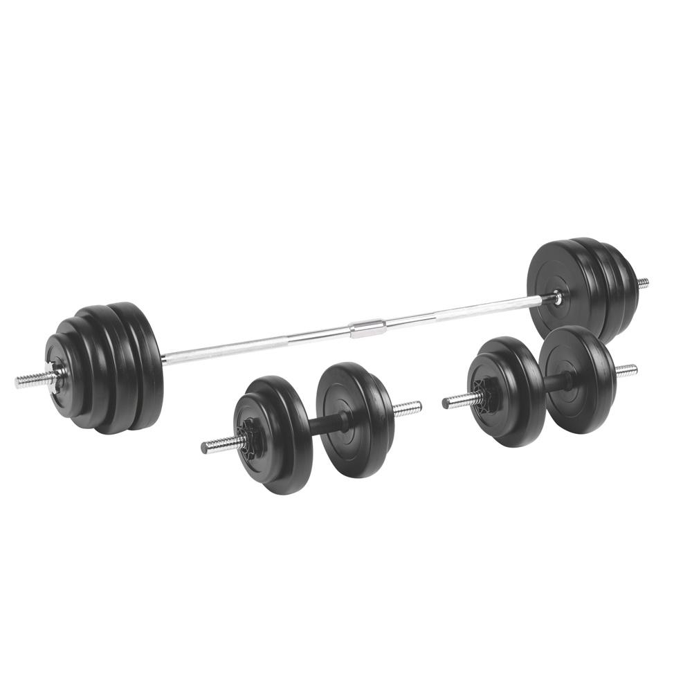 Nakládací činkový set inSPORTline BS208 3-50 kg