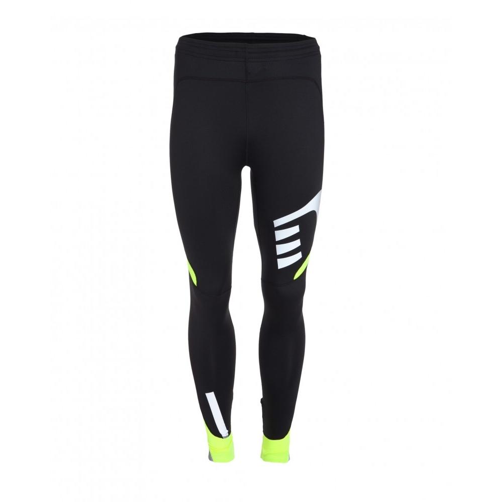 Pánské běžecké kalhoty Newline VISIO černá-fluo - S