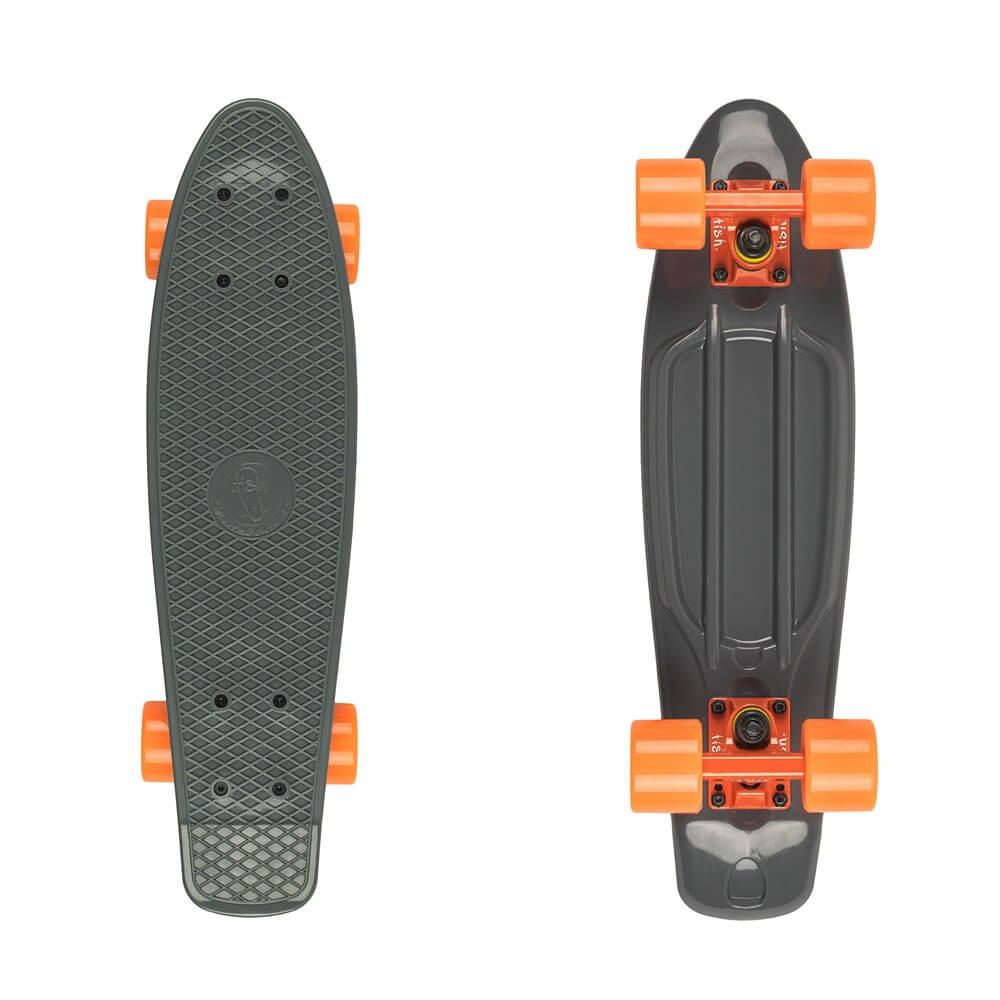 "Penny board Fish Classic 22"" Grey-Orange"