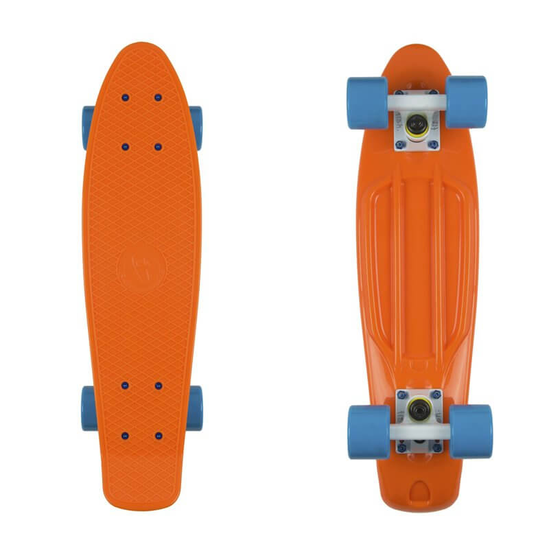 "Penny board Fish Classic 22"" orange/white/blue"
