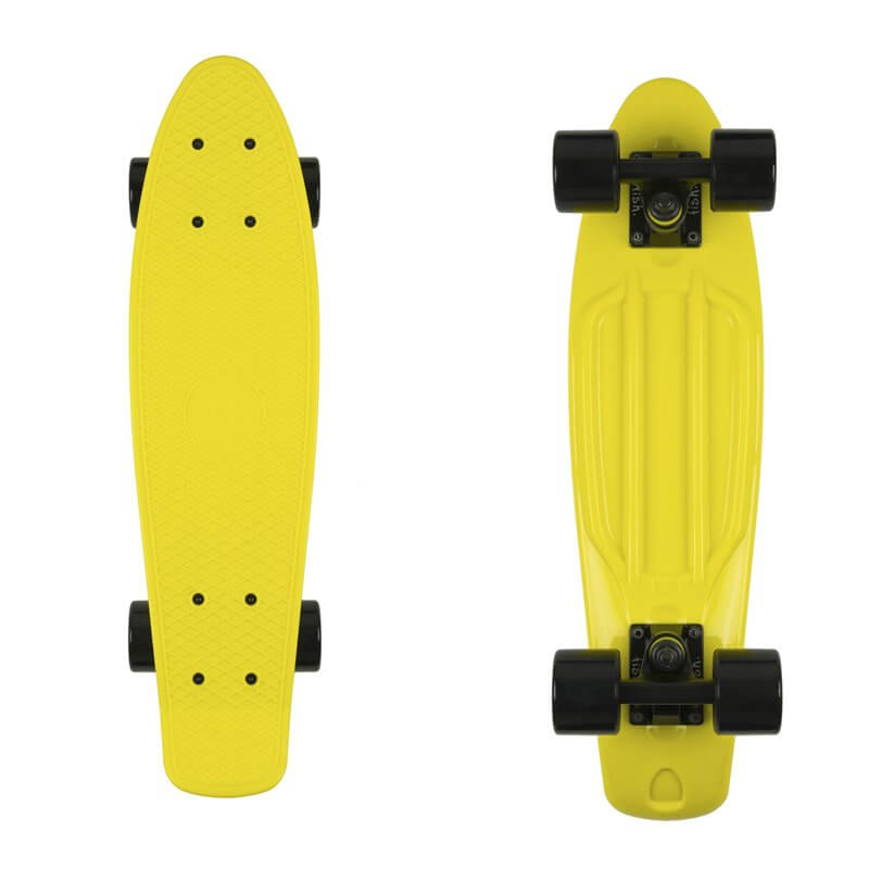 "Penny board Fish Classic 22"" Yellow-Black-Black"