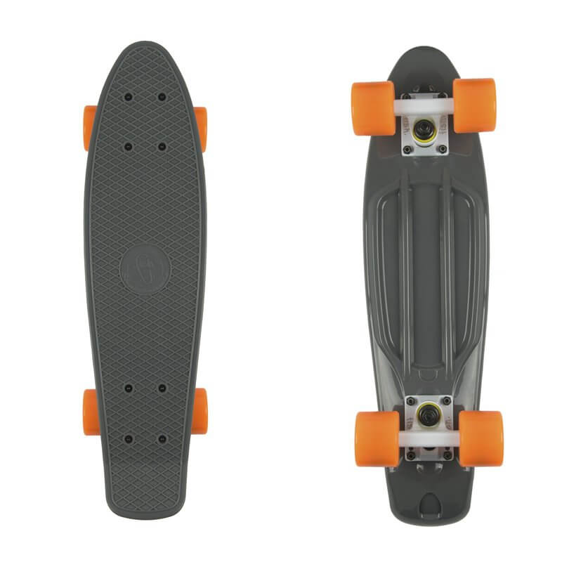 "Penny board Fish Classic 22"" Grey-White-Orange"