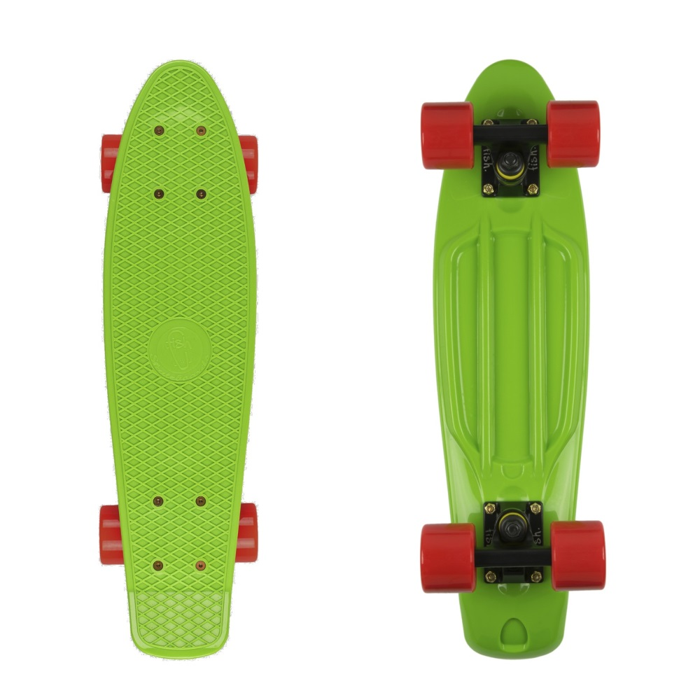 "Penny board Fish Classic 22"" Green-Black-Red"