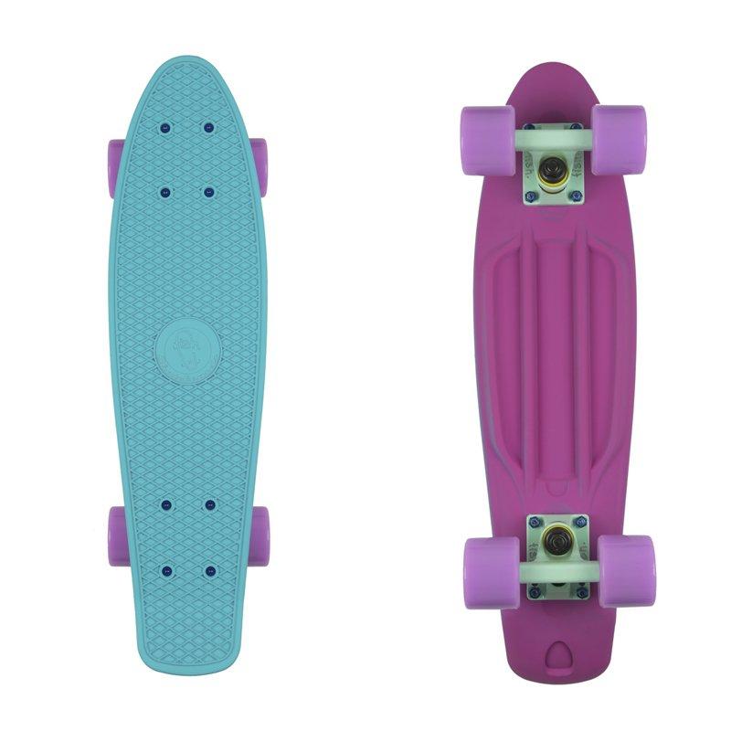 "Penny board Fish Classic 2Colors 22"" Purple-Green-Summer Purple"
