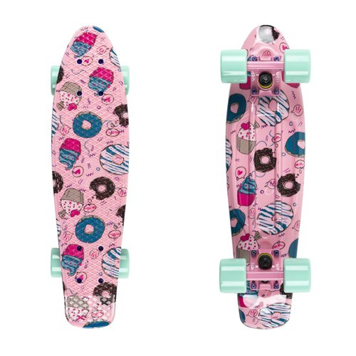 "Penny board Fish Print 22"" cookies"
