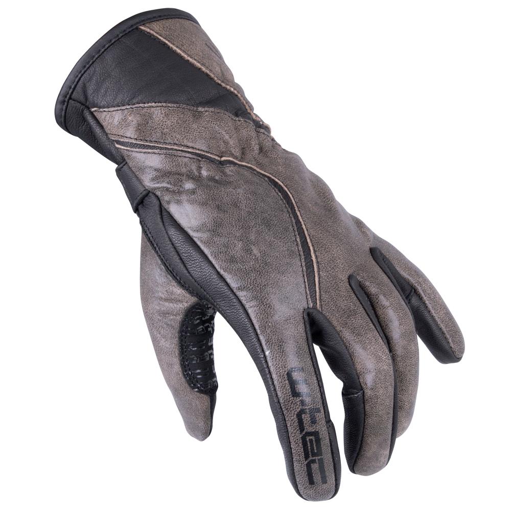 Dámské moto rukavice W-TEC Sheyla GID-16035 hnědá - M