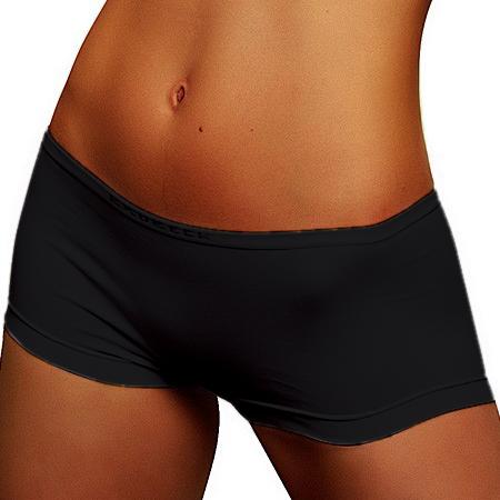 Dámské bezešvé bavlněné kalhotky Brubeck - s nohavičkou - inSPORTline 6d5f17e59f