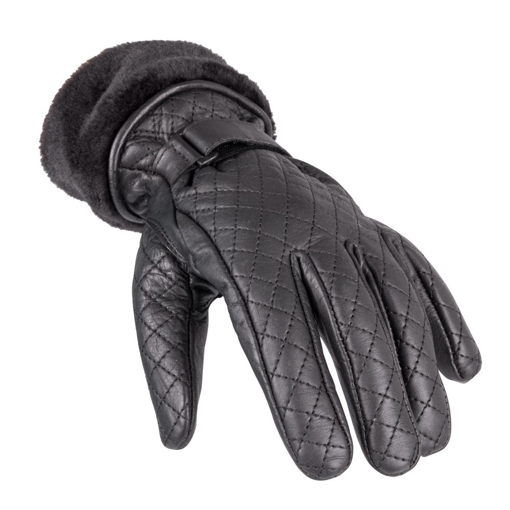 Dámské kožené rukavice W-TEC Stolfa NF-4205