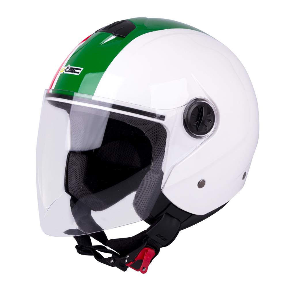 Otevřená helma W-TEC FS-715 Made in Italy - L (59-60)