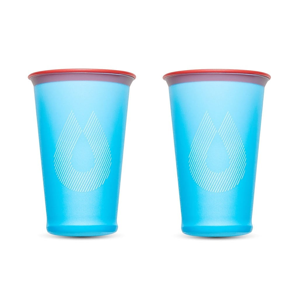 HydraPak Speed Cup - 2 Pack Malibu Blue  Golden Gate