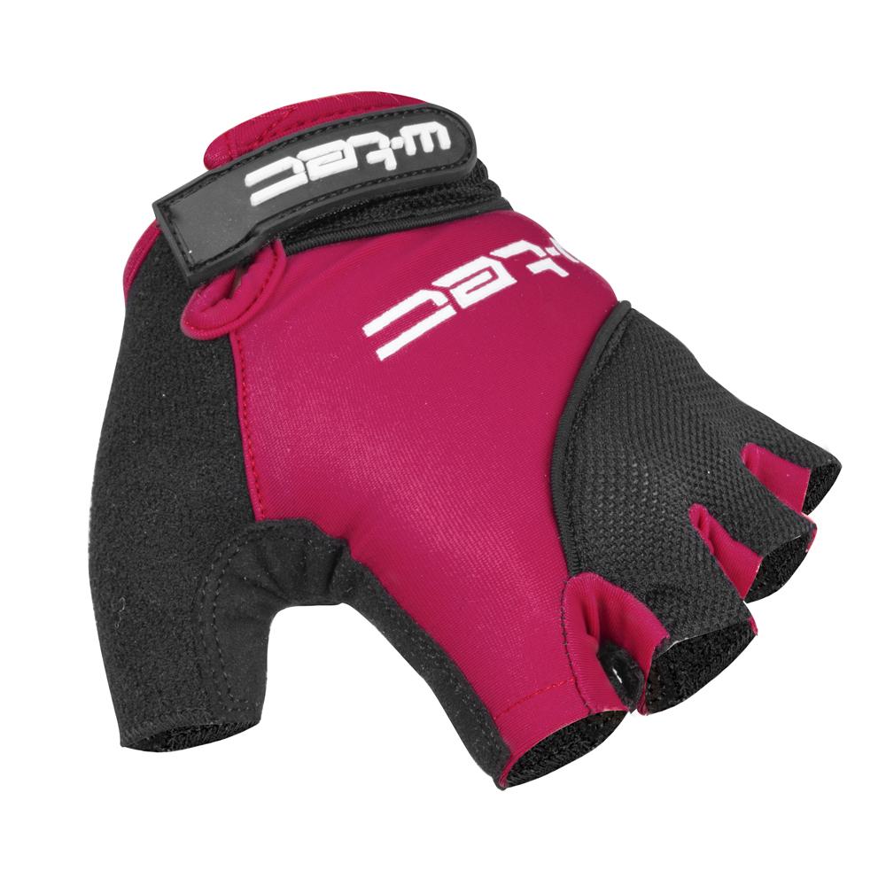 Dámské cyklo rukavice W-TEC Sanmala Lady AMC-1023-22 fialovo-černá - XS