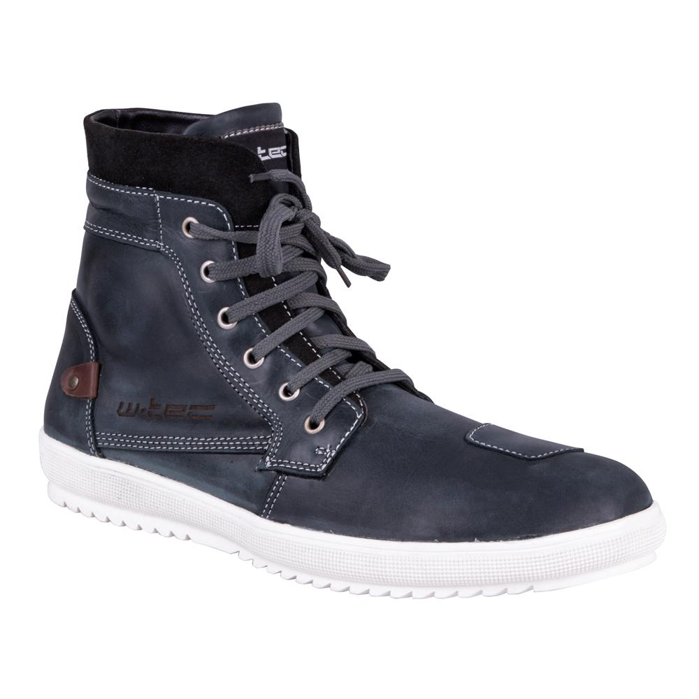 Moto boty W-TEC Sneaker 377 Navy Blue - 40