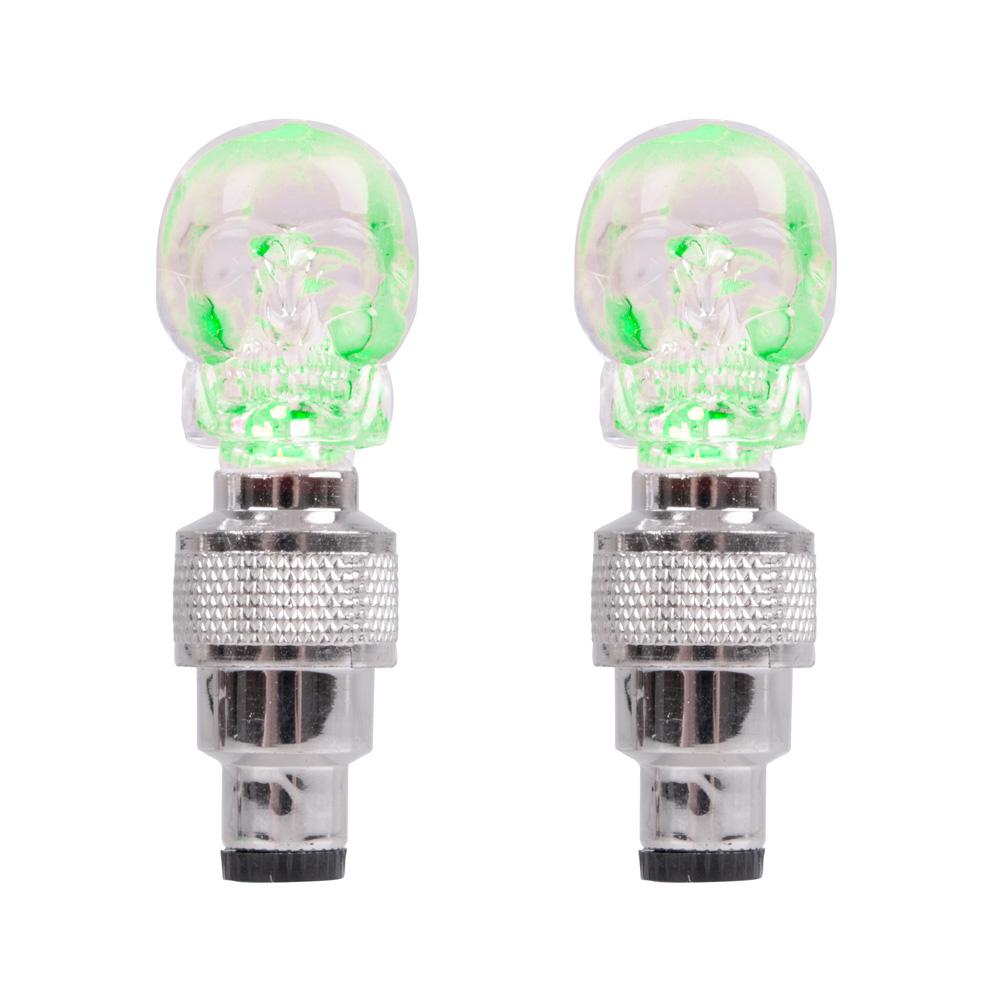Svítící ventilek WORKER Leebsy zelená